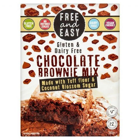 Free & Easy Chocolate Brownie Mix Gluten & Dairy Free 350g